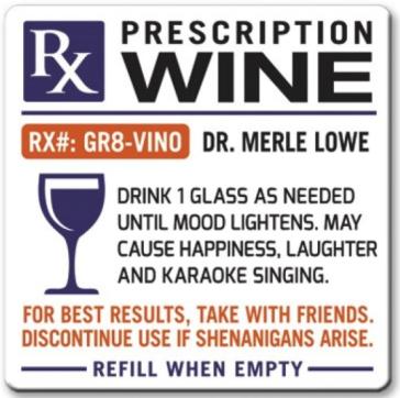 wine prescription